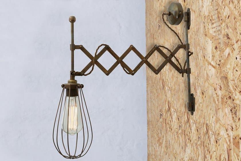 Scissor Mano Lampada Calis Cage Mullan Lighting Light Parete Da Diretta Luce Orientabile Arm A Fatta TlKcJF5u13