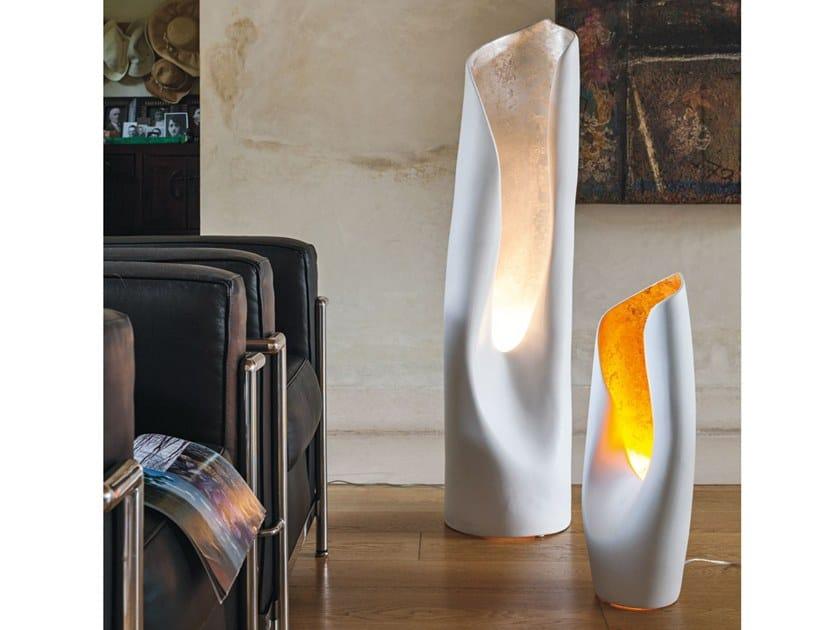 Ceramic floor lamp CALLA by Adriani e Rossi edizioni