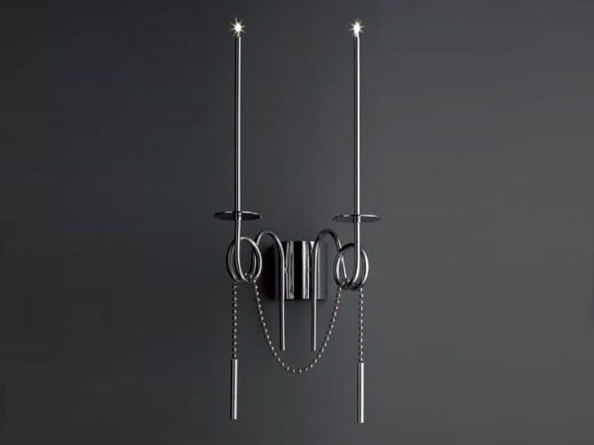 Lampada da parete a LED in acciaio CALLIGRAFICO | Lampada da parete by SP Light and Design