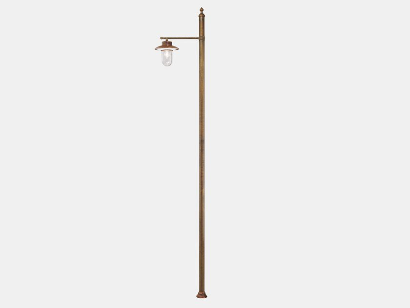 Metal garden lamp post CALMAGGIORE 304.H1.ORT by Il Fanale