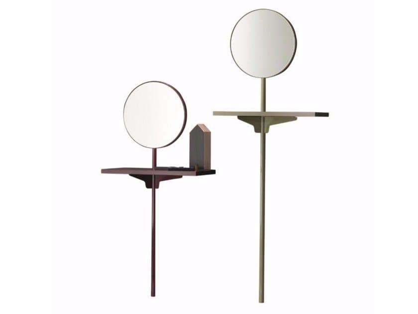 Specchio rotondo a parete per ingresso CAMALEO | Specchio by Twils