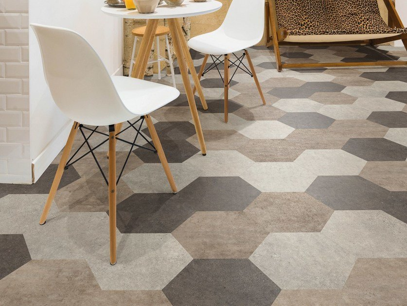 Vinyl Floor Tiles With Stone Effect Camaro Stone By Liuni