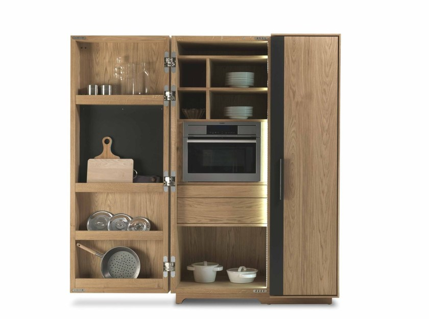 Solid wood cabinet CAMBUSA COOK & COOK JUMBO by Riva 1920