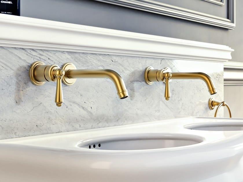 2 hole wall-mounted washbasin mixer CAMDEN | 2 hole washbasin mixer by Graff Europe West