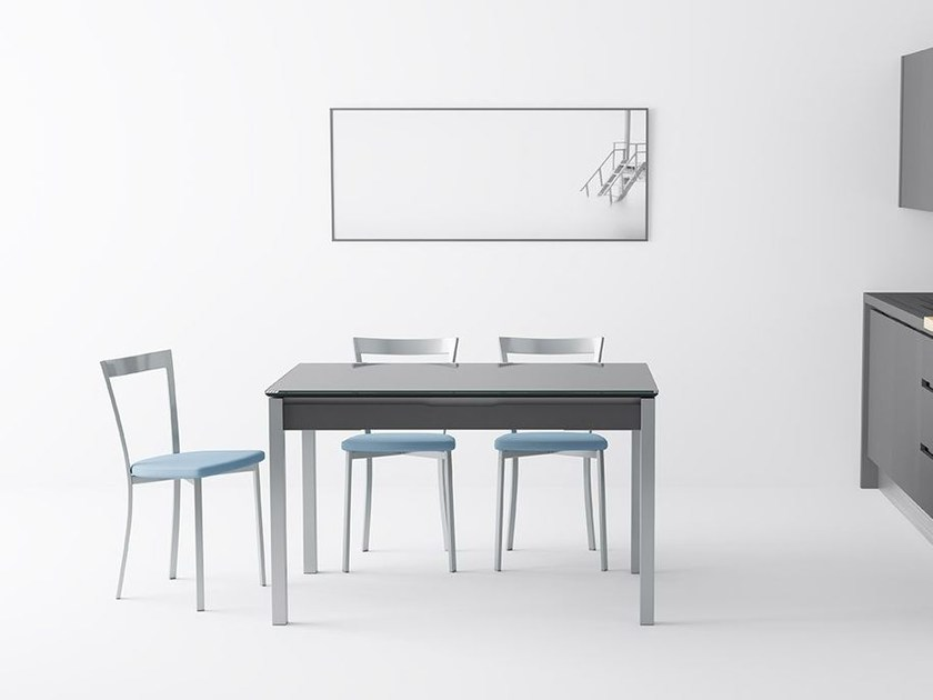 Extending table with drawers CAMEL by CANCIO