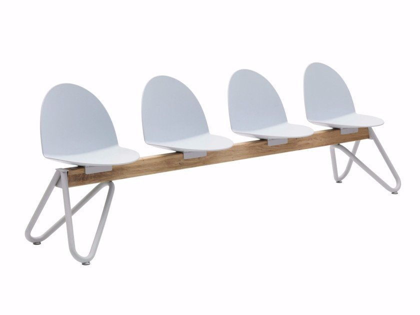 Polypropylene beam seating CAMEL | Polypropylene beam seating by Segis