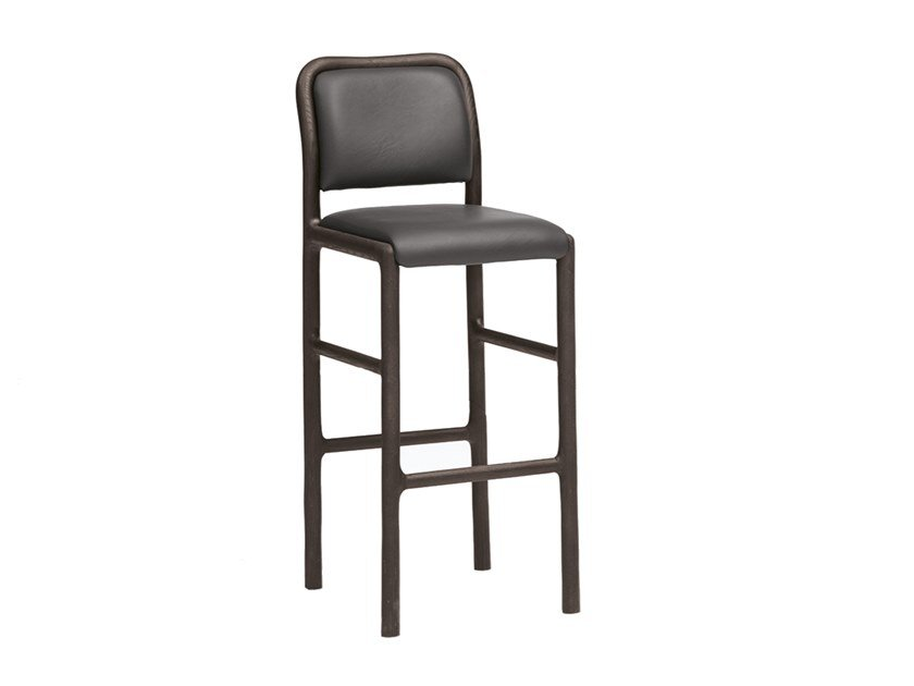 High barstool with footrest CAMEO | CONTRACT | High stool by PIAVAL