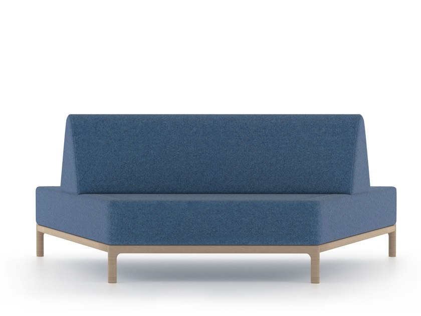 Modular Fabric Sofa Cameo Health Care By Piaval