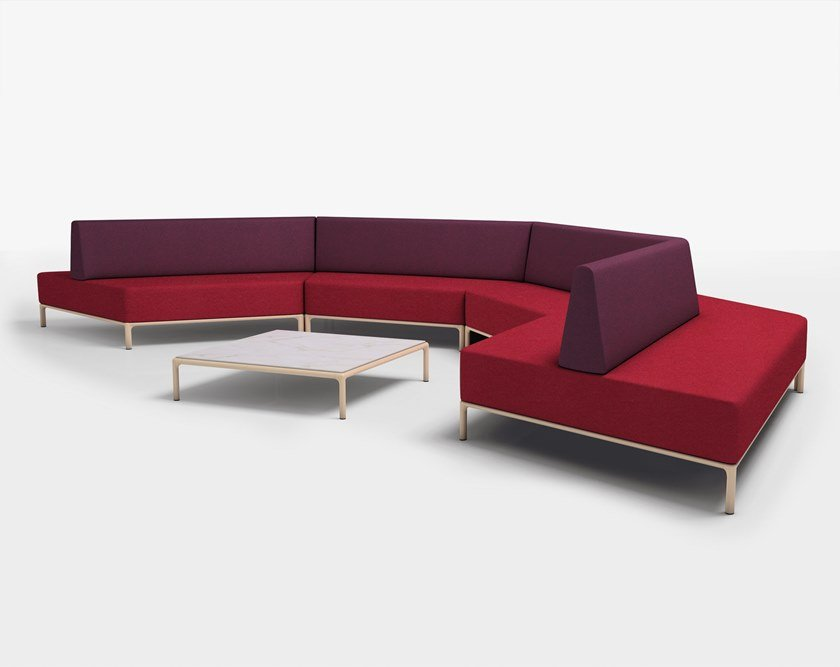Cameo Health Care Fabric Sofa By Piaval Design Edi Paolo Ciani