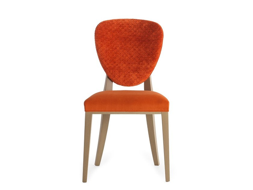 Upholstered chair CAMMEO 02611 by Montbel