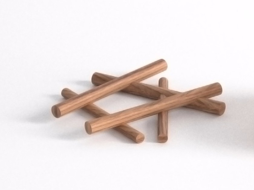 Teak pot stand CAMP FIRE by Specimen Editions