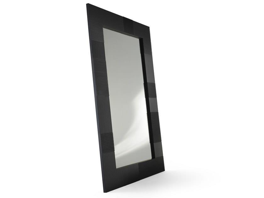 Rectangular framed MDF mirror CAMPI | Rectangular mirror by ALBEDO