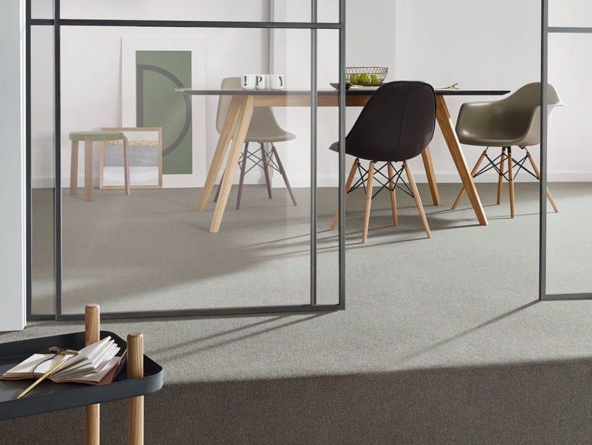 Solid-color carpeting CAMPUS by Vorwerk Teppichwerke