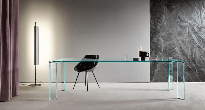 Tavolo da pranzo in cristallo CAN CAN | Tavolo in vetro - Tonelli Design