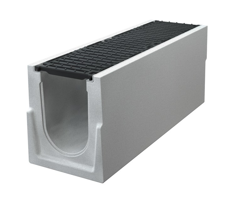 Concrete Drainage channel and part CANALE BIG I S 200 H400 | Drainage channel and part by GREENPIPE