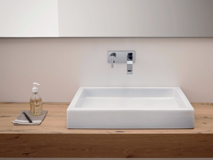Canale Rectangular Washbasin By Nic Design