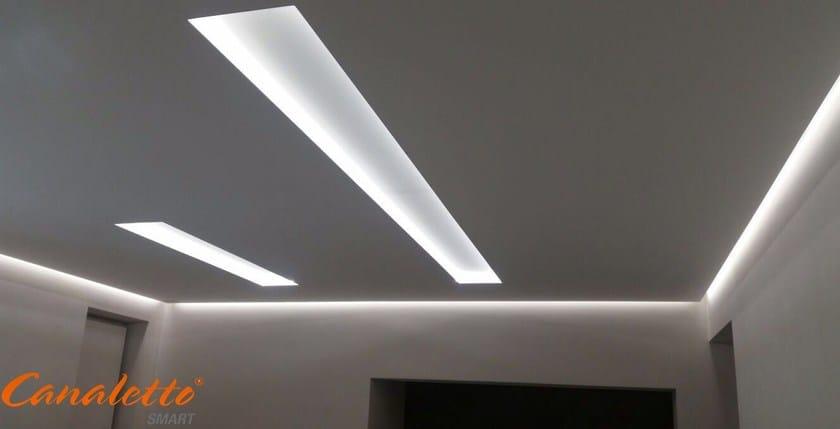 Lineare Smart In Profilo Mdf Canaletto Per Illuminazione JTlKFc13