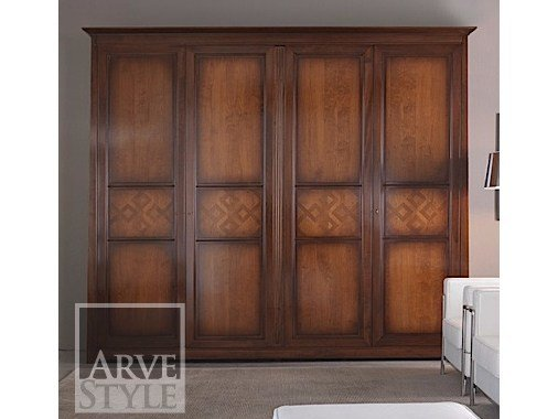 Solid wood wardrobe NAIMA | Wardrobe by Arvestyle