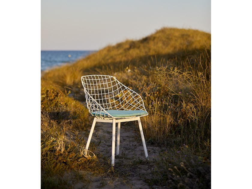 CANASTA | Sedia con cuscino integrato