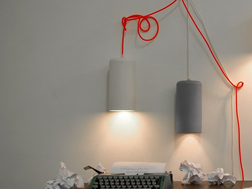 Laprene® wall lamp CANDLE 1 | Wall lamp by In-es.artdesign