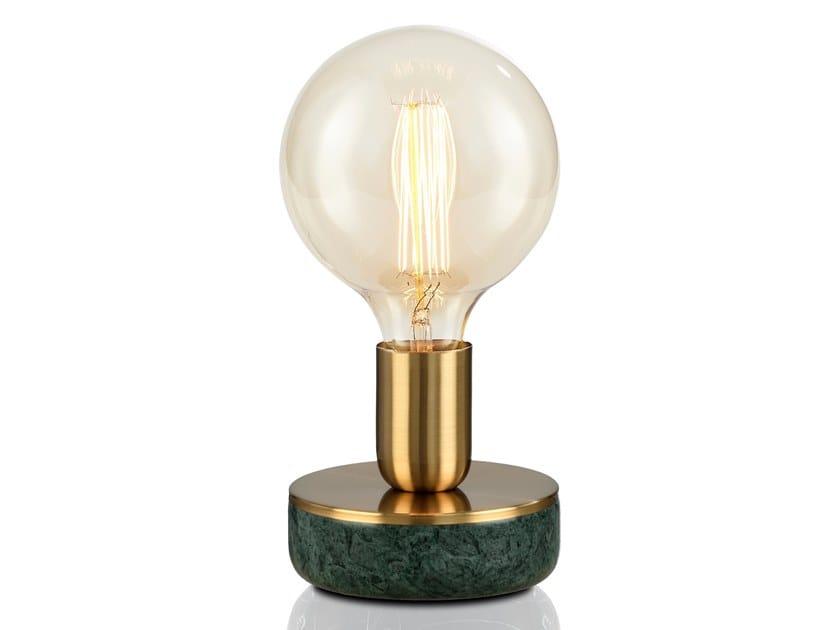 Lámpara de mesa de mármol CANDLE   Lámpara de mesa by KAISHI