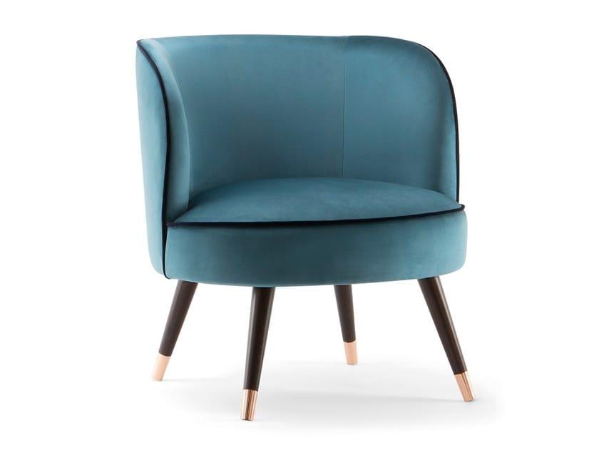 Fabric armchair CANDY | Armchair by Tirolo