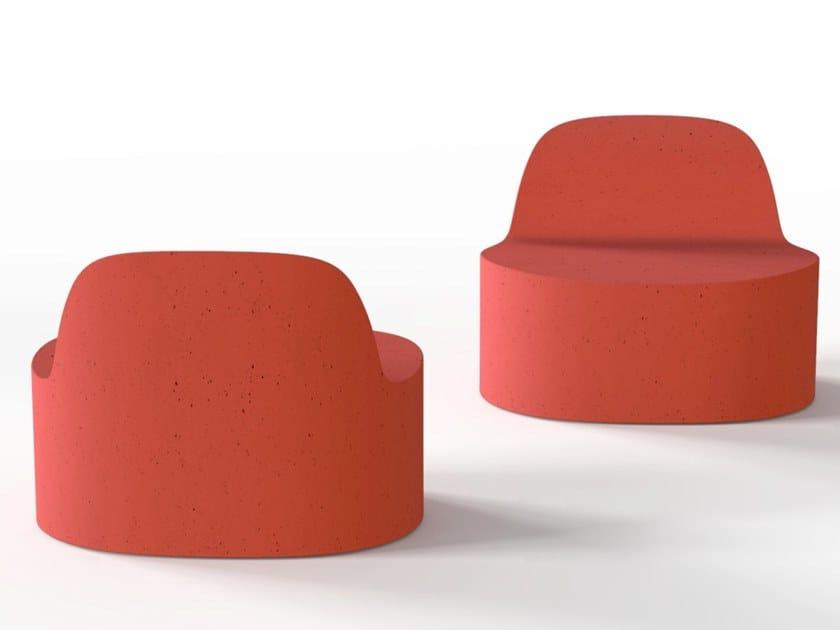 Poltrona in Cimento® CANNAREGIO | Poltrona by Cimento
