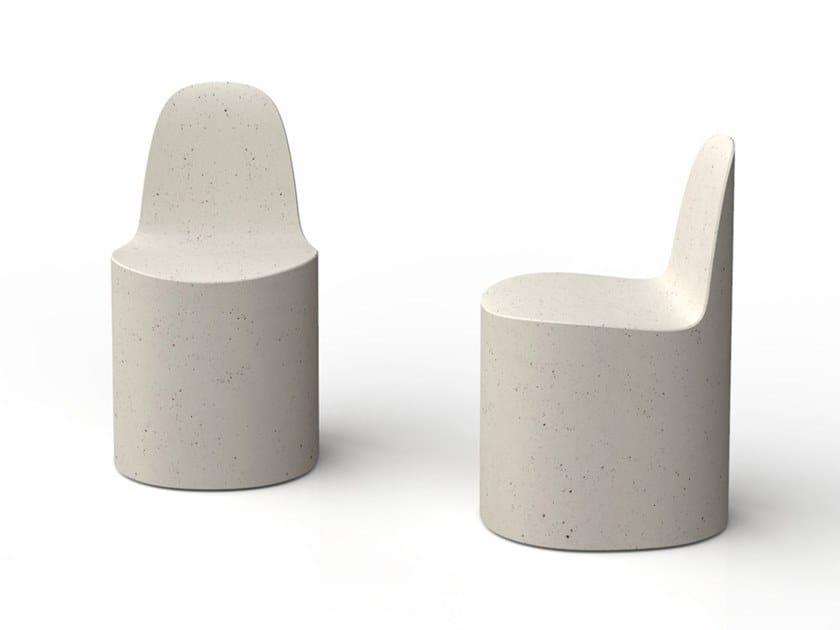 Sedia in Cimento® CANNAREGIO   Sedia by Cimento