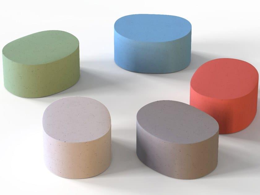 Pouf in Cimento® CANNAREGIO | Pouf by Cimento