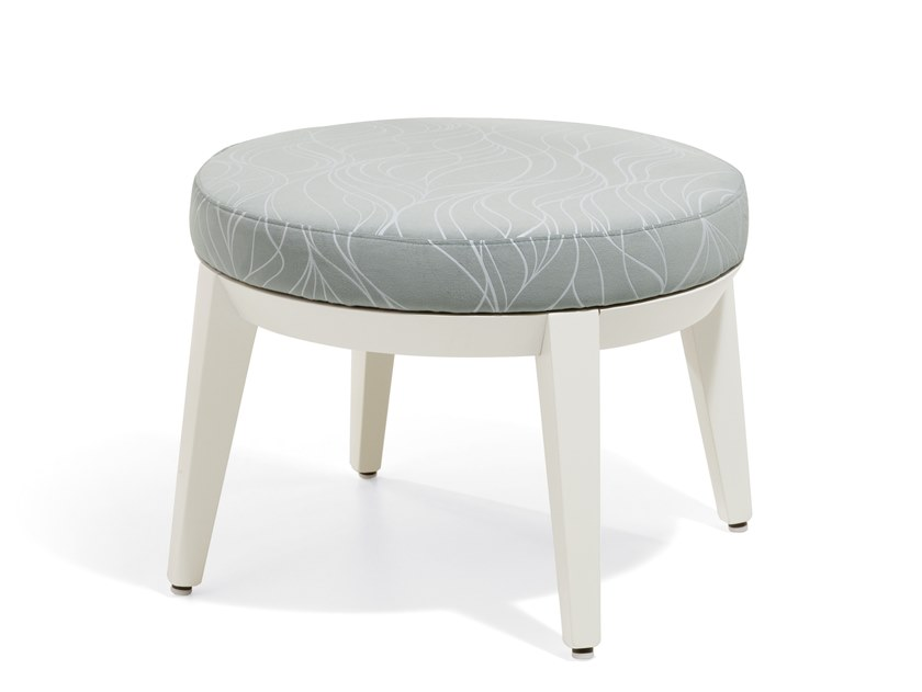 Fabric footstool CANTO | Footstool by Blifase
