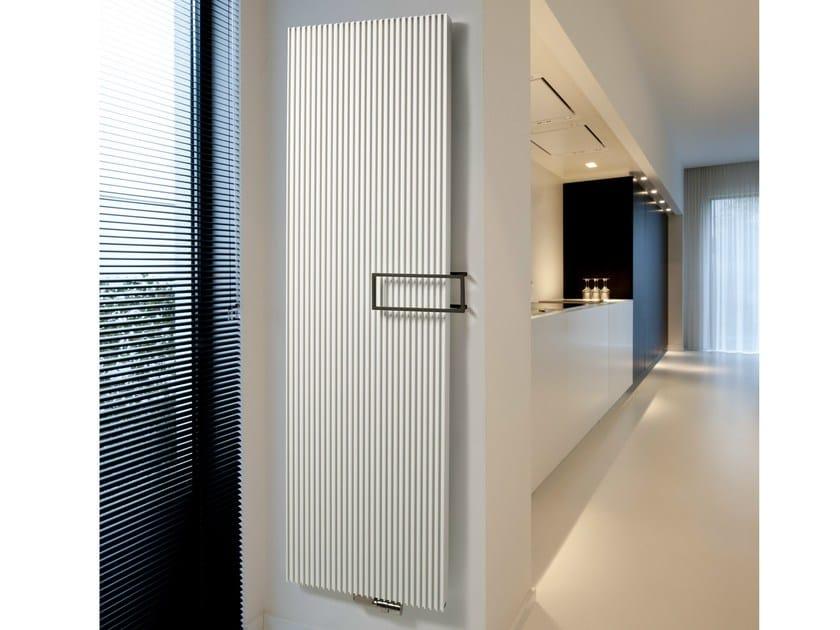 Vertical aluminium decorative radiator CANYON by VASCO