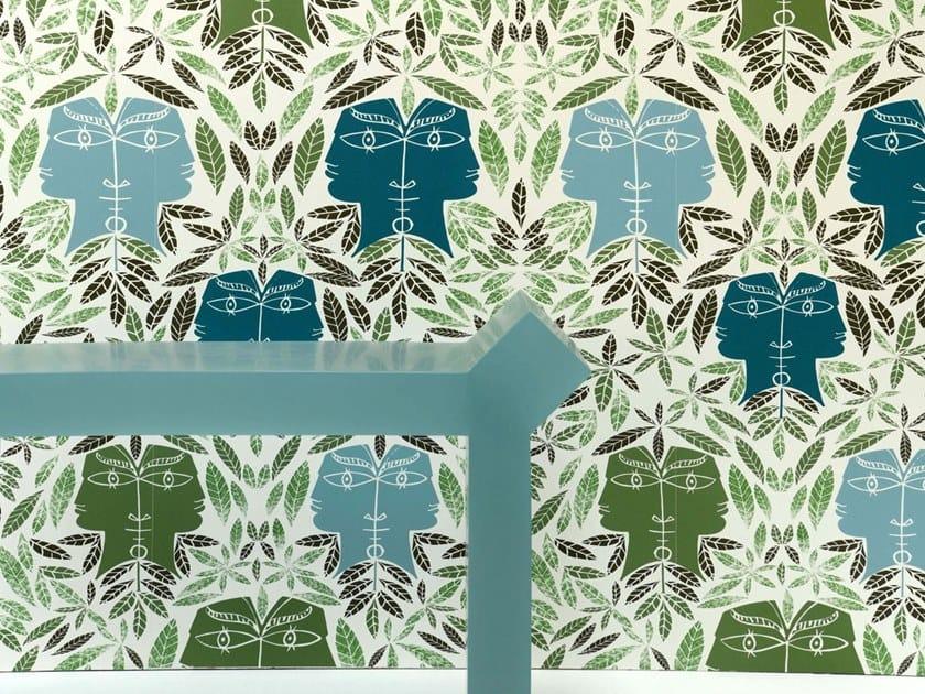 Motif nonwoven wallpaper CAP D'AIL by LELIEVRE
