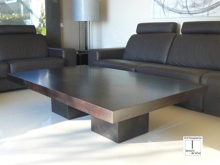 Rectangular wooden coffee table CAPELA | Coffee table by Gonzalo De Salas
