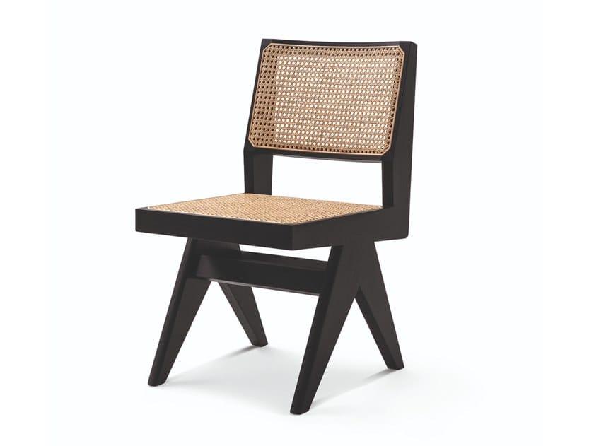 Sedia in legno massello 055 CAPITOL COMPLEX CHAIR by Cassina