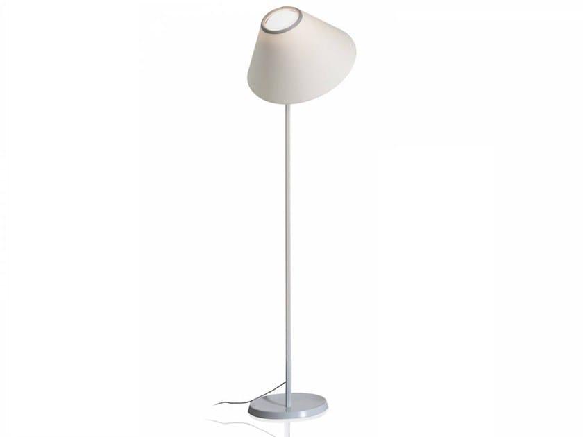 LED adjustable floor lamp CAPPUCCINA | Floor lamp by LUCEPLAN
