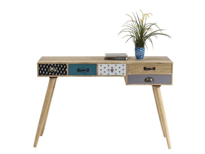 Wooden secretary desk CAPRI | Secretary desk by KARE-DESIGN
