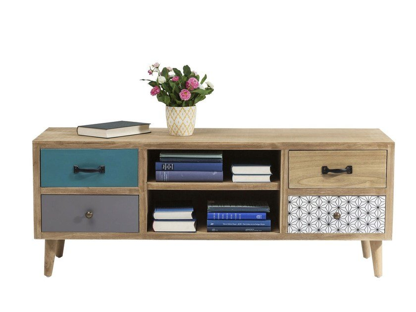 TV cabinet with drawers CAPRI | TV cabinet by KARE-DESIGN