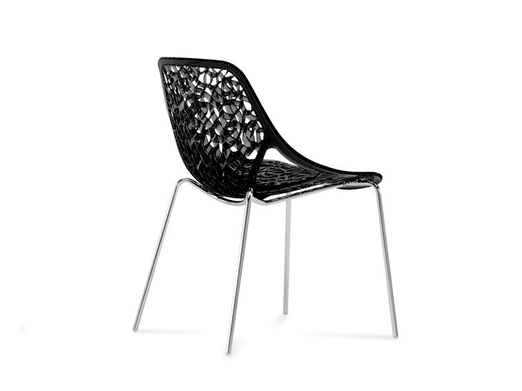Stackable Nylon® chair CAPRICE TUBE by Casprini