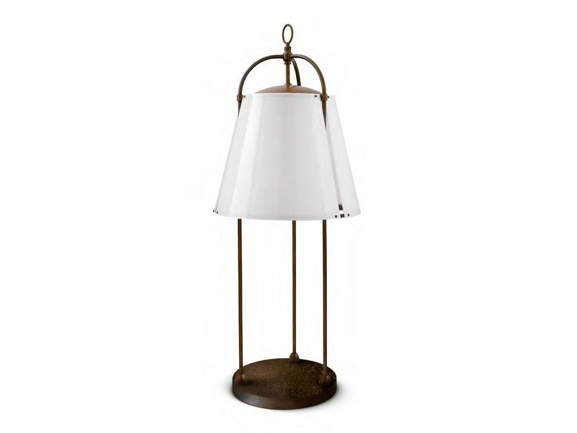 Brass Floor lamp CAPRIFOGLIO by Aldo Bernardi