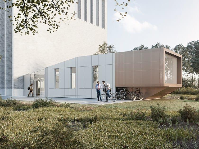 Modulo polifunzionale integrabile ad edifici esistenti CAPSULE by Manni Green Tech