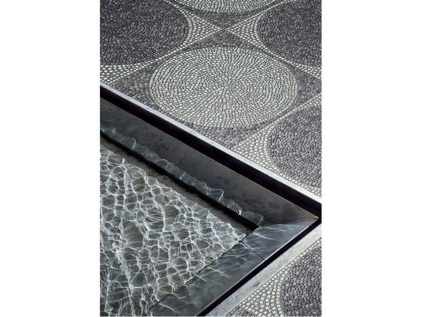 Glass mosaic CARACALLA by Mutaforma