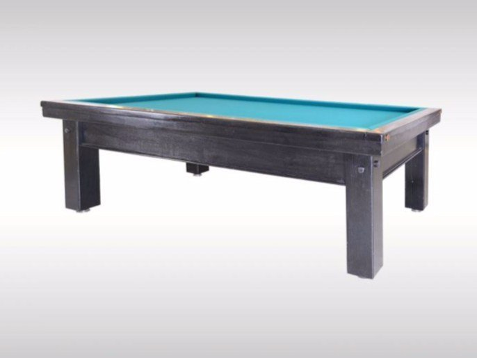 Groovy Rectangular Wooden Pool Table Carambol By Woka Lamps Beutiful Home Inspiration Xortanetmahrainfo