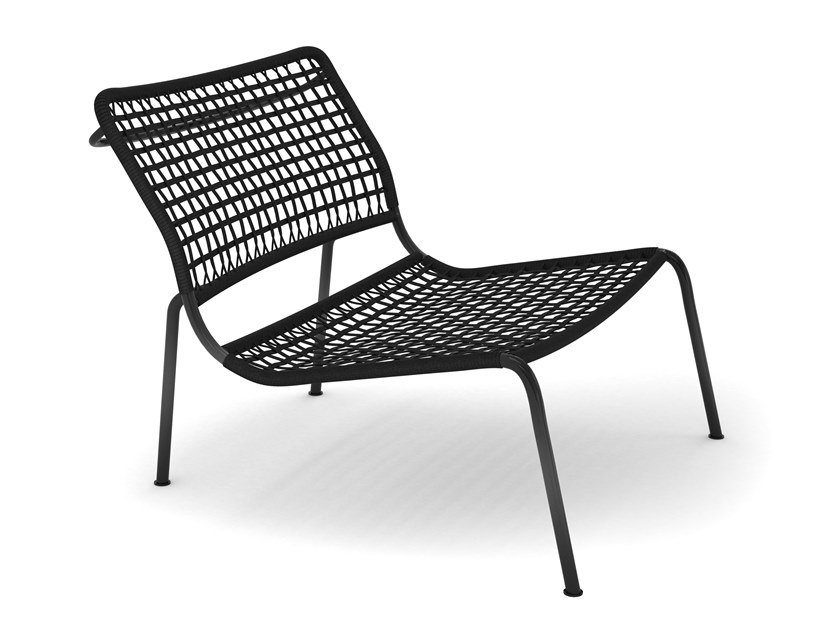 Garden other materials easy chair CARBON FROG by Living Divani