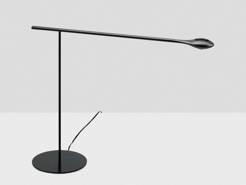LED table lamp CARBON LIGHT TABLE LAMP by Tokio