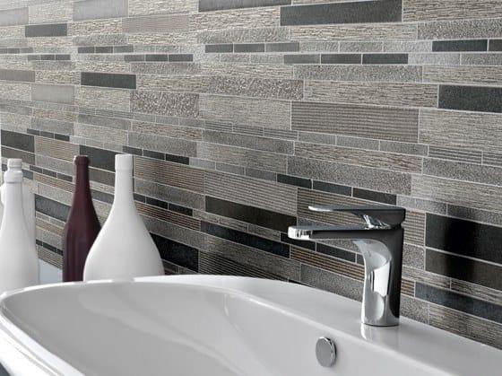 Basalt mosaic CARBON MULTIEFFECT STRIP by BOXER