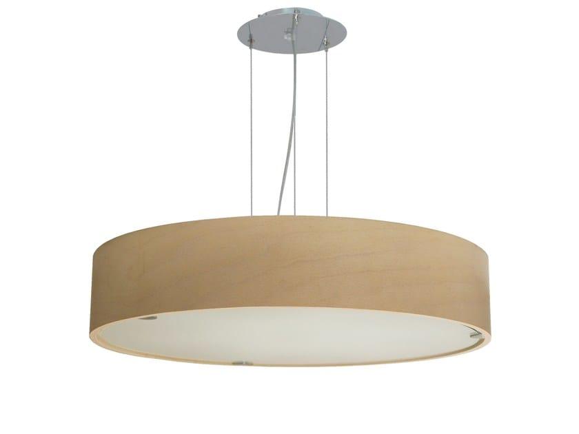 LED pendant lamp CARENE by Brossier Saderne