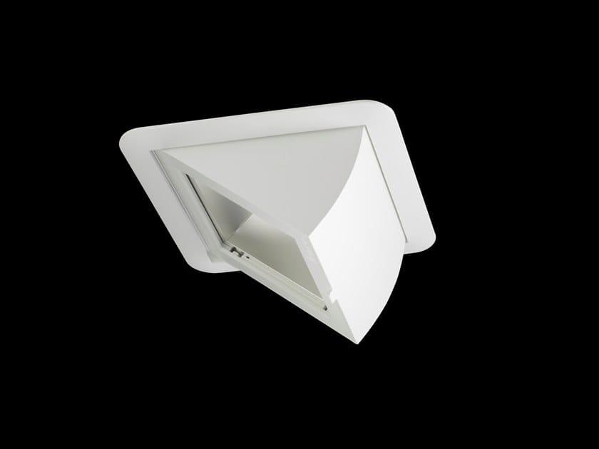 Faretto a LED orientabile quadrato in alluminio verniciato a polvere CARERO by LUNOO