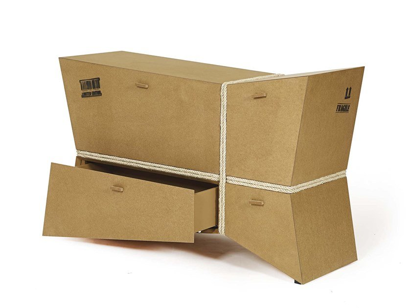 Sideboard with flap doors CARGO by ARKOF LABODESIGN