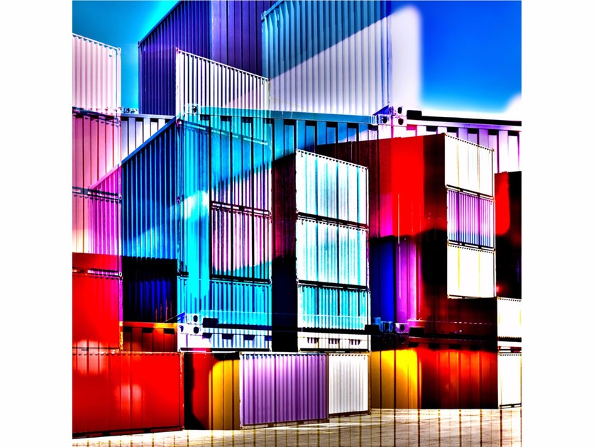 Photographic print CARGO BLOCKS - FINE ART PHOTOGRAPHY by 99 Limited Editions