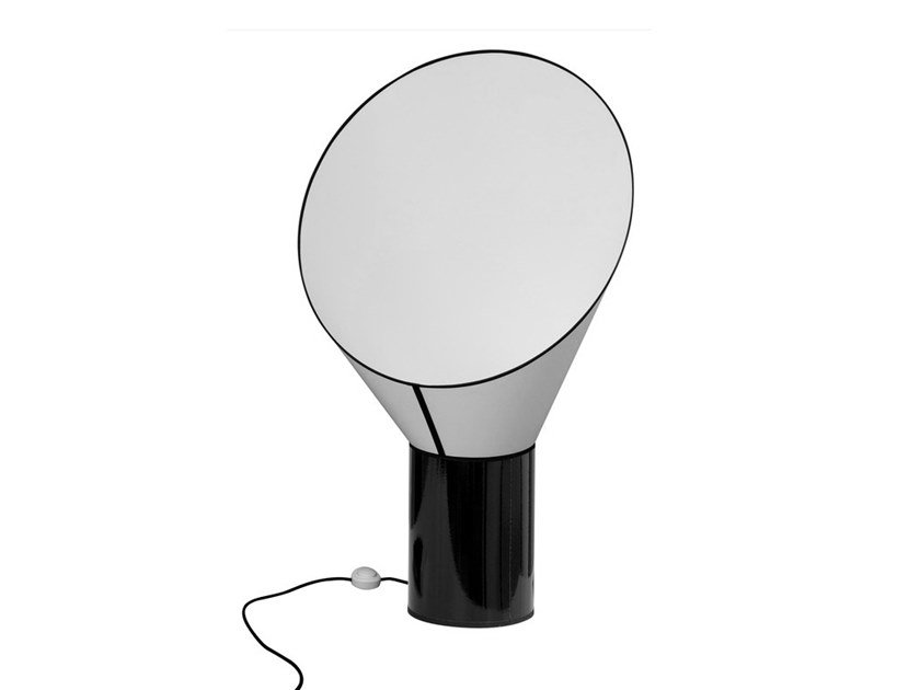 LED steel and PVC table lamp CARGO | Table lamp by designheure
